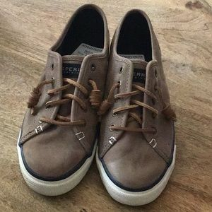 Sperry Slip-on Sneakers Size 9 Taupe New